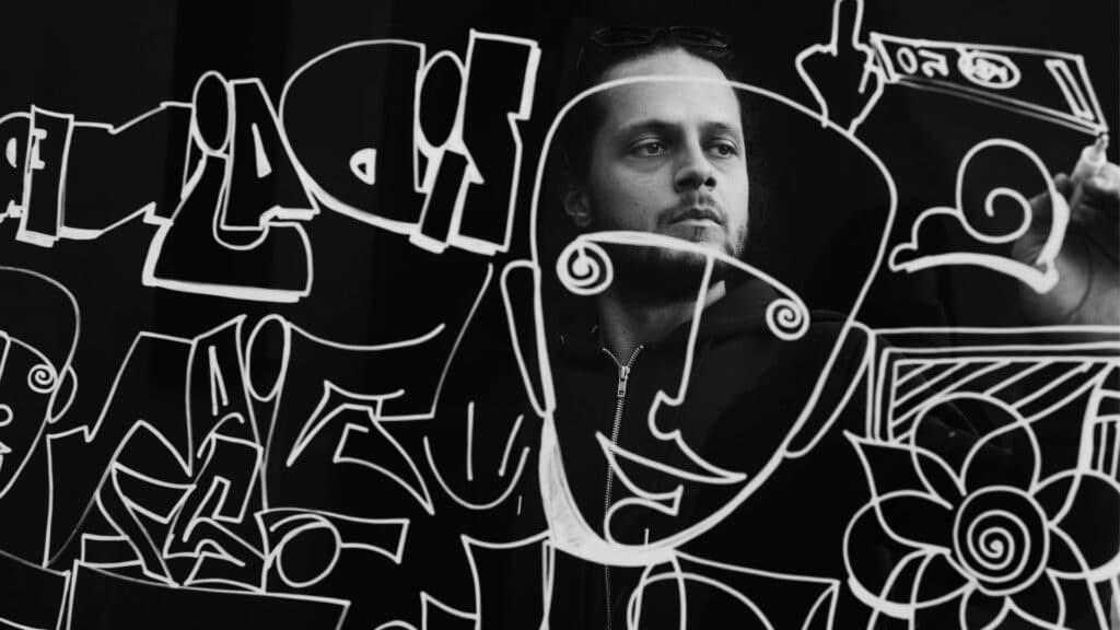 artysta Benjamin Cengic organizuje festiwal muralowy w Sarajewie