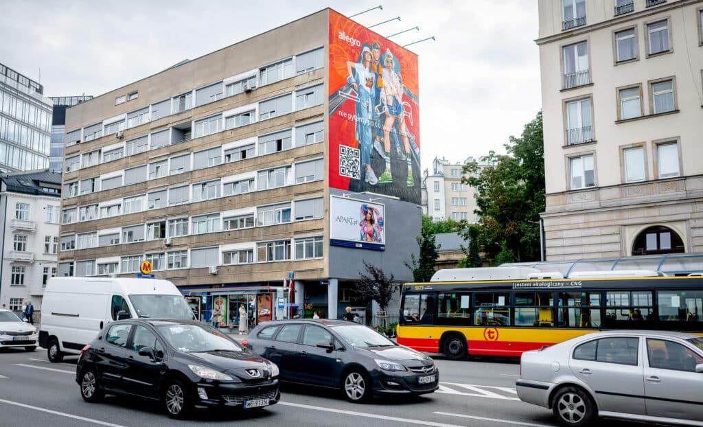 Warszawski mural Alegro Malujemy Murale